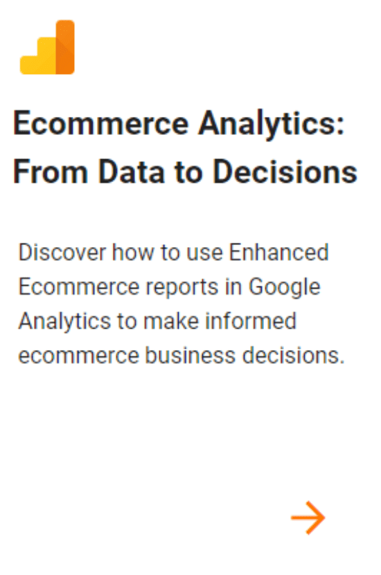Ecommerce Analytics From Data to Decisions ALL DIGI SEO