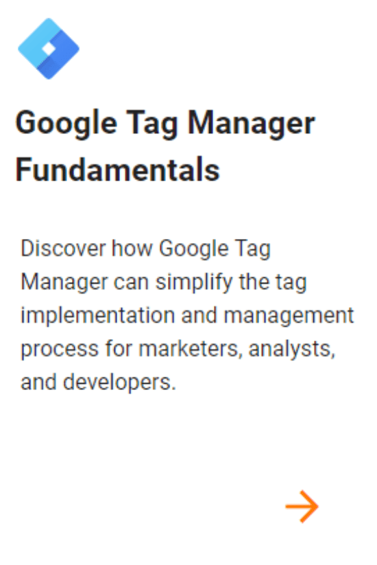 Google Tag Manager Fundamentals ALL DIGI SEO